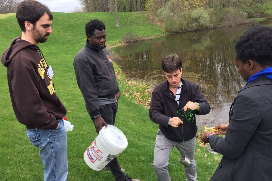 Collecting Water Samples