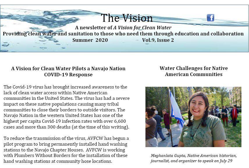 AVFCW Summer 2020 Newsletter