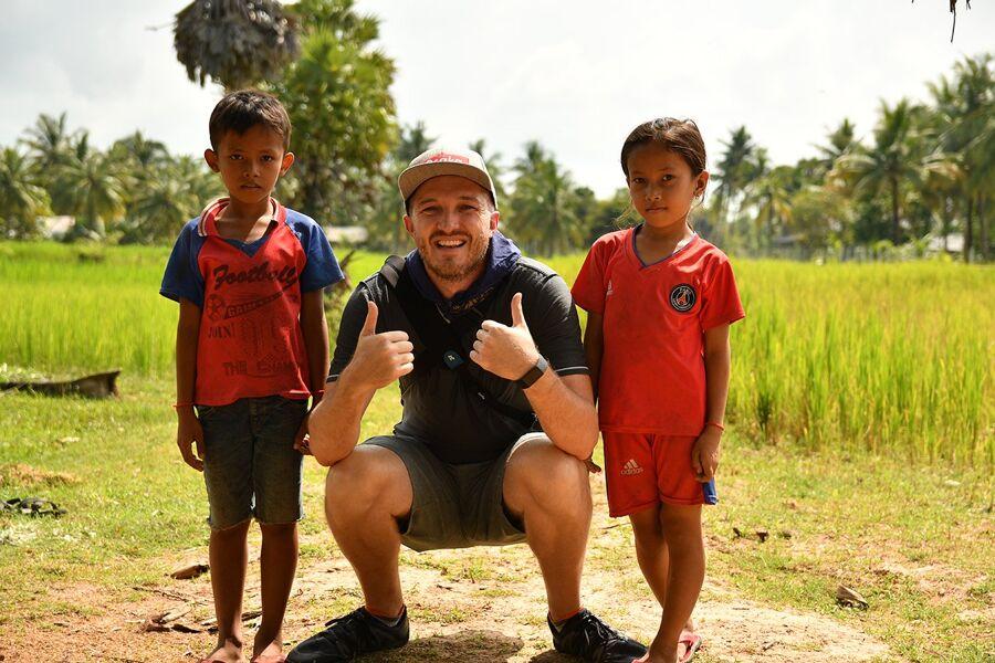 Scott Brills in Cambodia